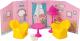 Комплект аксессуаров для кукольного домика Огонек Комната отдыха с интерьером / С-1484 -
