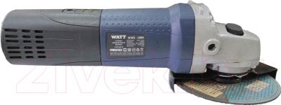 Угловая шлифовальная машина Watt WWS-1000 (4.010.125.10)