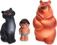 Набор игрушек для ванной Огонек Джунгли / С-983 -