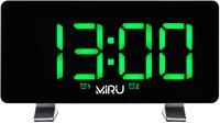 Радиочасы Miru CR-1031 (черный) -
