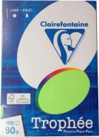 Бумага Trophee A4 80г/м 100л / 4128 (салатовый неон) -