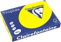 Бумага Trophee A4 80г/м 100л / 4117C (ярко-желтый) -