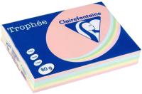 Бумага Trophee A4 80г/м 500л / 1703C (mix пастель) -