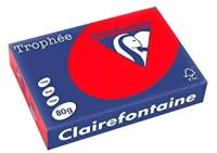 Бумага Trophee A4 80г/м 500л / 8175 (красный) -