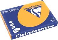 Бумага Trophee A4 80г/м 500л / 1761 (оранжевый) -