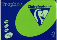 Бумага Trophee A4 80г/м 500л / 1875C (ярко-зеленый) -