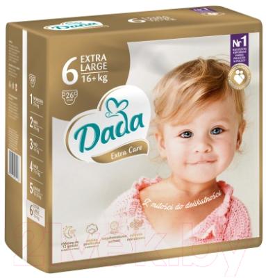 Подгузники детские Dada Extra Care Large 6 (26шт)