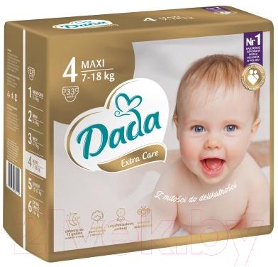 Подгузники детские Dada Extra Care Maxi 4 (33шт)