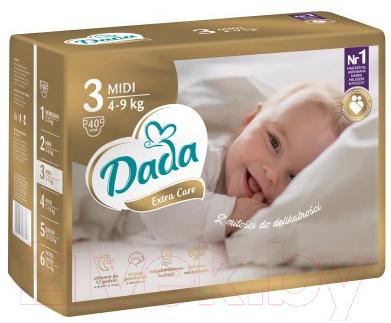 Подгузники детские Dada Extra Care Midi 3 (40шт)