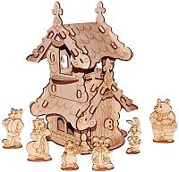 Кукольный домик Paremo Я конструктор. Теремок / PE120-08 -