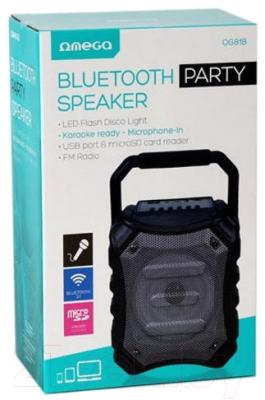 Портативная колонка Omega Bluetooth 5W / OG81B Disco