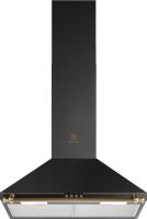 Вытяжка купольная Electrolux EFC226R (черный латунь) -
