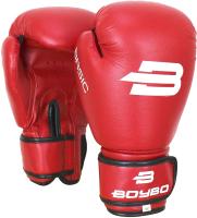 Боксерские перчатки BoyBo Basic 10oz (красный) -
