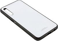 Чехол-накладка CASE Glassy для Honor 9X/9X Pro (белый) -