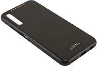 Чехол-накладка CASE Glassy для Honor 9X/9X Pro (черный) -