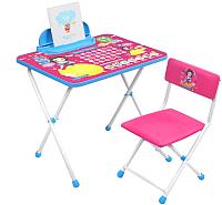 Комплект мебели с детским столом Ника Д1БК-М Disney-1 Белоснежка -