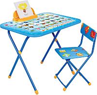 Комплект мебели с детским столом Ника NK-75/1 Азбука -