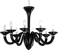 Люстра Ideal Lux White Lady SP8 Nero / 20518 -