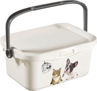 Емкость для хранения корма Curver PetLife Multibox 00364-C44-01 / 221764 -