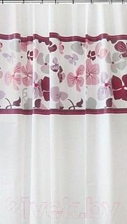 Шторка-занавеска для ванны VanStore Pink Nature Peva 61015