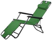 Складной шезлонг MONAMI HY-8007 (зеленый) -
