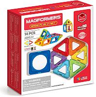Конструктор магнитный Magformers Basic Plus 14 Set / 715013 -