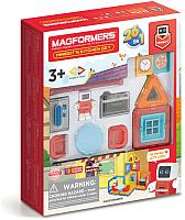 Конструктор магнитный Magformers Minibot's Kitchen Set / 705010 -