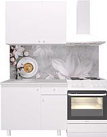 Готовая кухня Горизонт Мебель Point 100 (белый) -