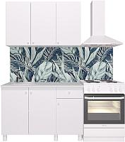 Готовая кухня Горизонт Мебель Point 120 (белый) -