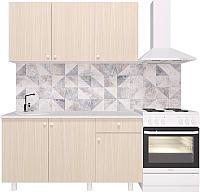 Готовая кухня Горизонт Мебель Point 150 (феррара) -