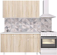 Готовая кухня Горизонт Мебель Point 150 (сонома) -