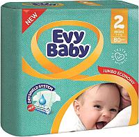 Подгузники детские Evy Baby Mini Jumbo (80шт) -