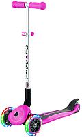 Самокат Globber Primo Foldable Lights / 432-110 (розовый) -