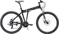 Велосипед STARK Cobra 27.2 HD 2020 (20, черный/белый) -
