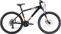 Велосипед STARK Shooter-1 2020 (18, черный/белый/оранжевый) -