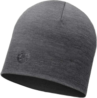 Шапка Buff Heavyweight Merino Wool Hat Solid Grey (113028.937.10.00) -