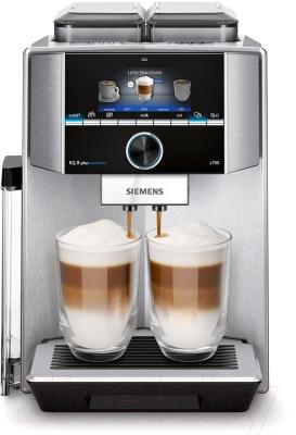 Кофемашина Siemens EQ.9 Plus Connect s700 / TI9573X1RW