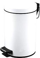 Мусорное ведро Metlex MX2082 (белый) -