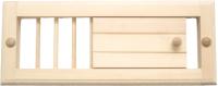 Решетка вентиляционная для бани СаунаКомплект М-16 (малая) -