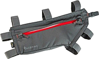 Сумка велосипедная Acepac Zip Frame Bag M / 128223 (серый) -