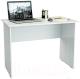 Письменный стол MFMaster Милан-5 / МСТ-СДМ-05-БТ-16 (белый) -