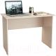 Письменный стол MFMaster Милан-5 / МСТ-СДМ-05-ДМ-16 (дуб молочный) -