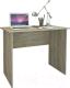 Письменный стол MFMaster Милан-106 / МСТ-СДМ-16-ДС-16 (дуб сонома) -