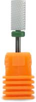 Фрезы для маникюра PALU С цилиндр (зеленый/грубый) -