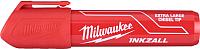 Маркер строительный Milwaukee 4932471560 (XL, красный) -