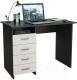 Письменный стол MFMaster Милан (0120) / МСТ-СДМ-00-ВД-03 (венге/дуб молочный) -