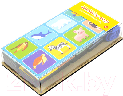 Развивающая игрушка Paremo Лото. Животные / PE120-25