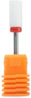 Фрезы для маникюра PALU F цилиндр (красный/мелкий) -
