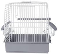 Клетка для птиц Voltrega 001631B (белый/серый) -