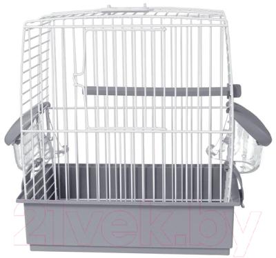 Клетка для птиц Voltrega 001631B (белый/серый)
